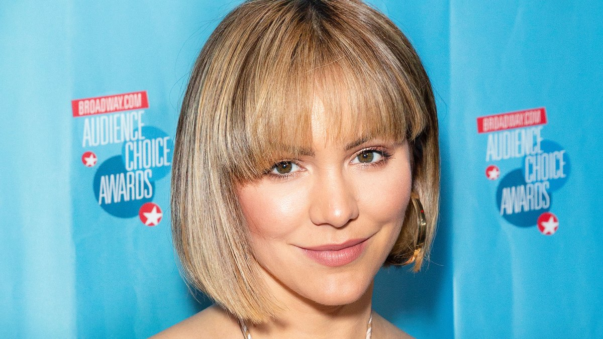 katharine mcphee tells us about her blond bob haircut: