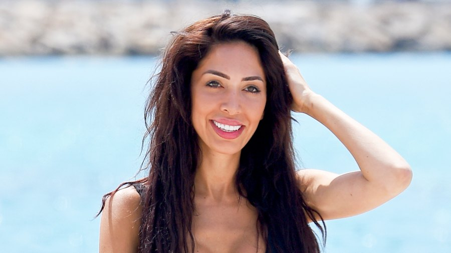 Farrah Abraham at the beach in Cannes on May 17, 2018.