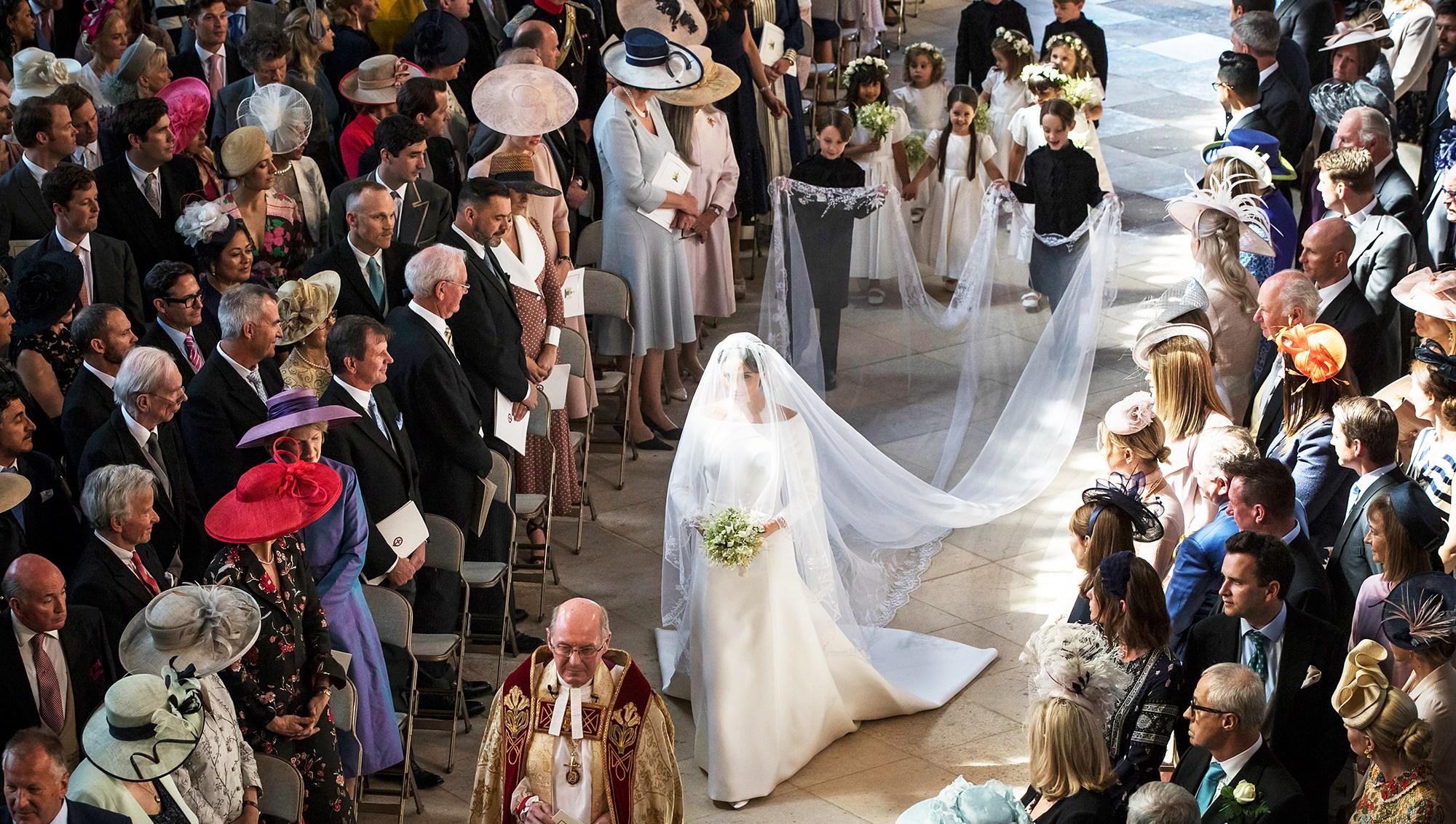 Meghan Markle Royal Wedding Regal Beauty
