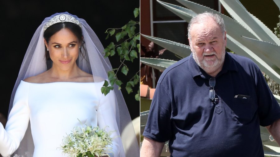 duchess meghan didn t talk to her father on wedding day to prince harry her father on wedding day to prince harry
