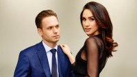 Patrick J. Adams as Michael Ross, Meghan Markle as Rachel Zane