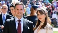 Patrick J. Adams and wife Troian Bellisario
