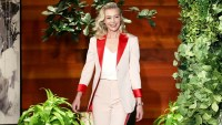 Portia de Rossi The Ellen DeGeneres Show Retired Acting