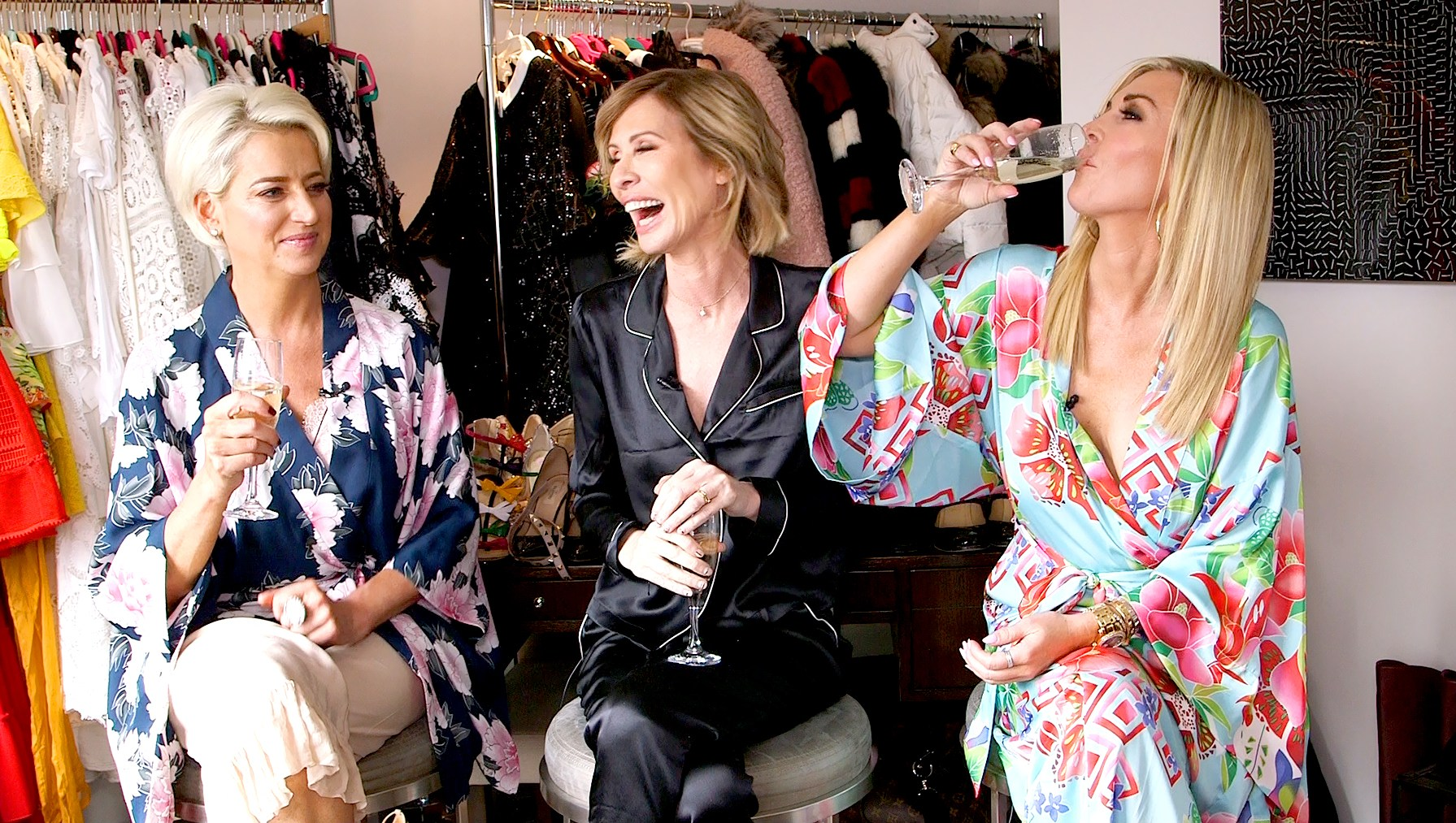 Dorinda Medley, Carole Radziwill, and Tinsley Mortimer