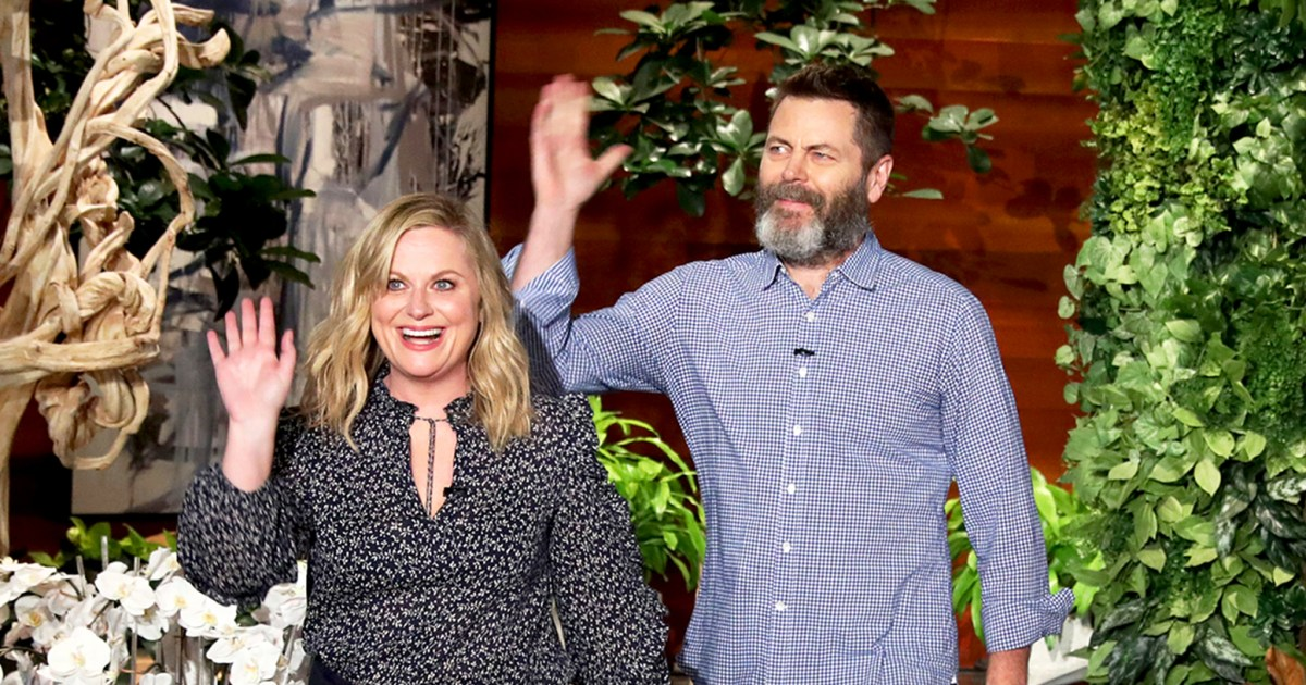 amy poehler nick offerman would do a parks and rec reboot. Black Bedroom Furniture Sets. Home Design Ideas