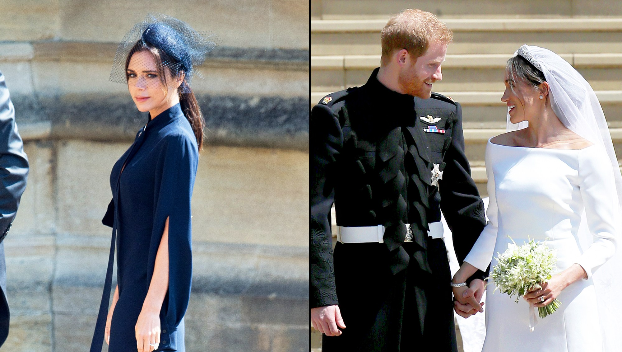 Victoria Beckham, Prince Harry and Meghan Markle