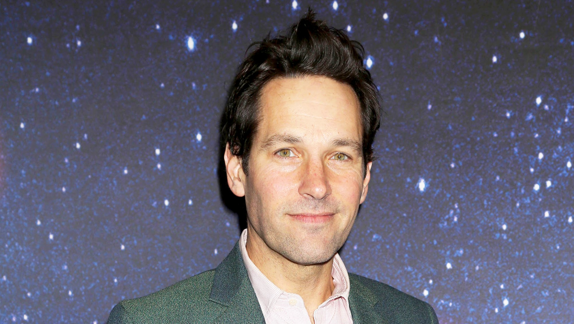Paul Rudd attends the 2017 'Meteor Shower' Broadway Opening Night at the Booth Theatre in New York City.