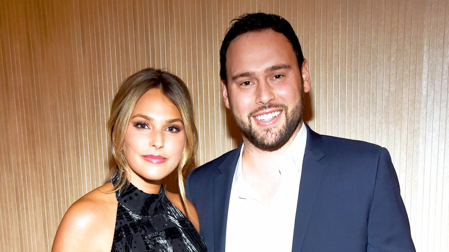 Yael Cohen and Scooter Braun attend Pre-Grammy 2017 Gala and Salute to Industry Icons Honoring Debra Lee at The Beverly Hilton in Los Angeles, California.