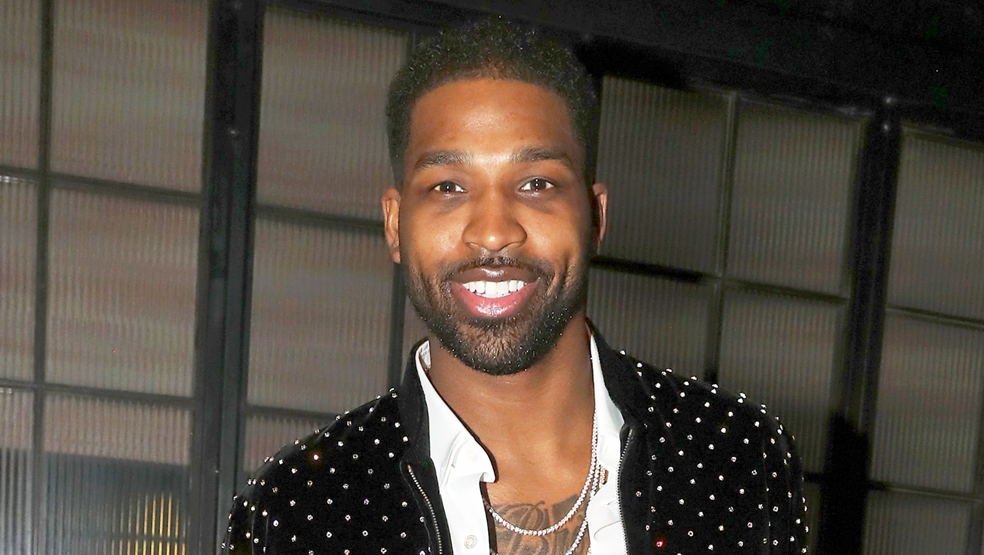 Tristan Thompson attends Remy Martin 2018 Viewing Party at Luchini Pizzeria and Bar in Los Angeles, California.