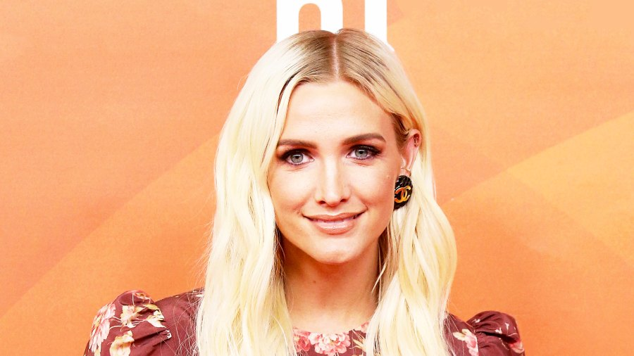 Ashlee Simpson attends NBCUniversal Summer Press Day 2018 held at Universal Studios Backlot in Universal City, California.