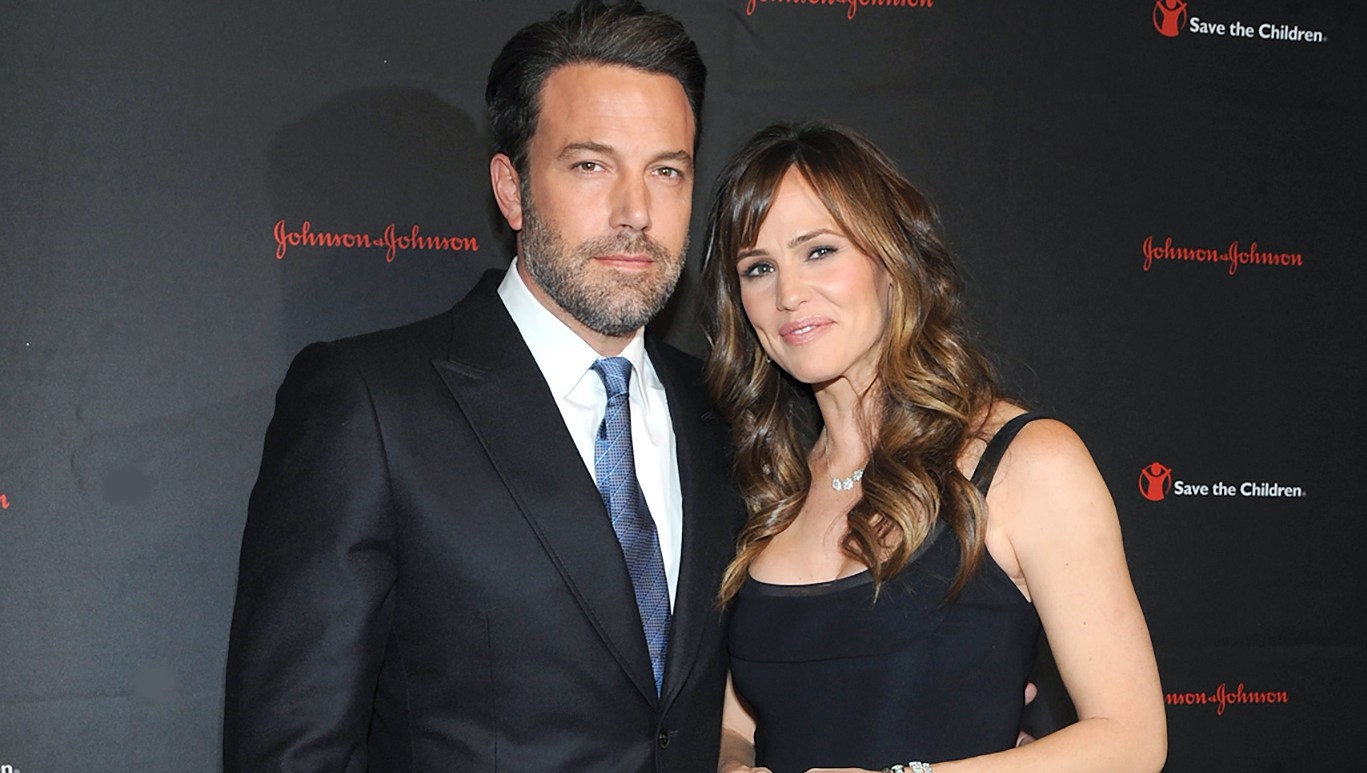 Ben Affleck, Jennifer Garner, Father's Day