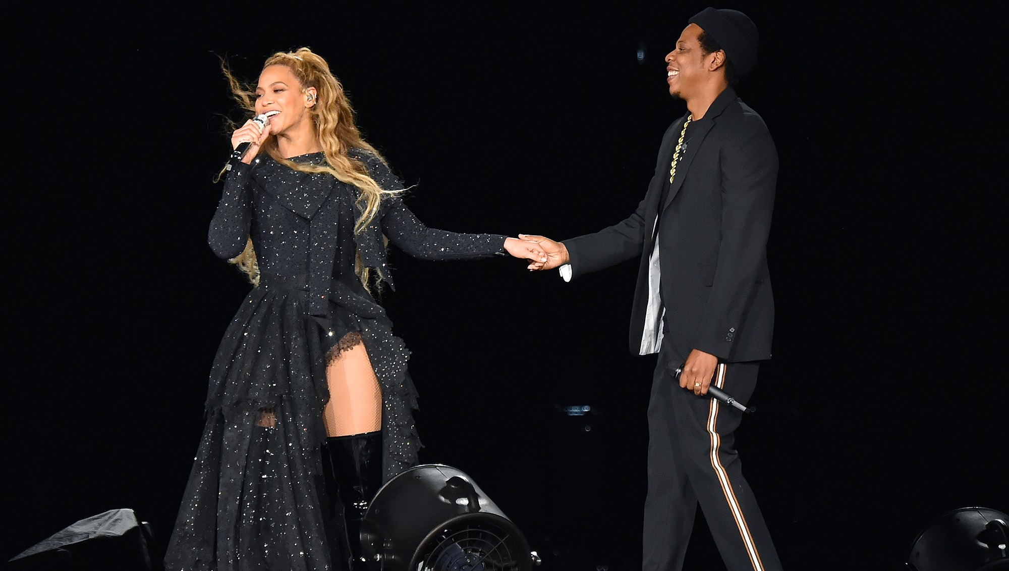 Beyonce, Jay Z, Concert, On the Run II, Tour, Glasgow, Grenfell Tower Victims