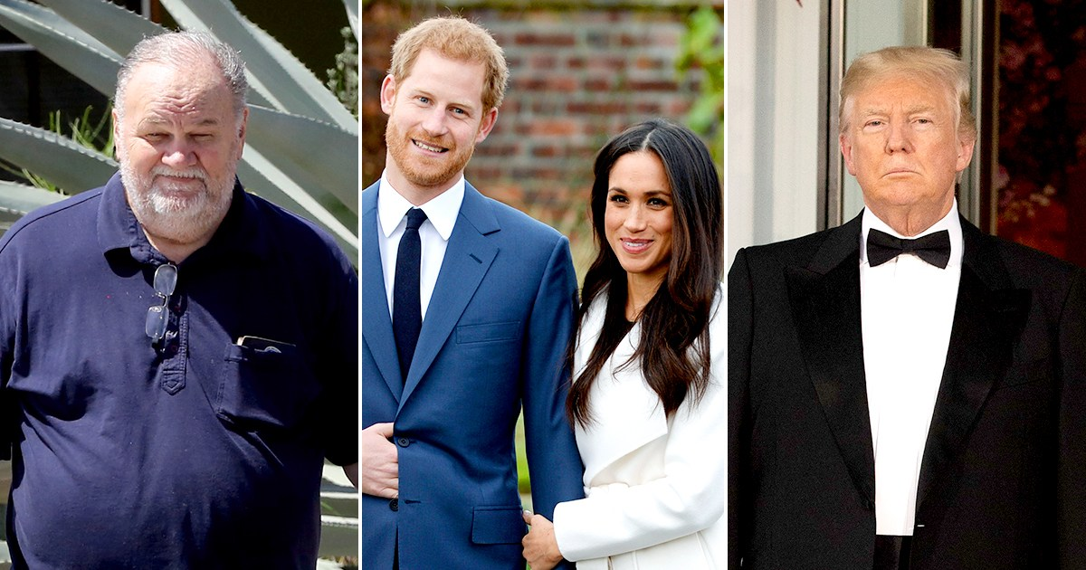 Meghan Markle's Dad: Prince Harry Said Give Trump a Chance