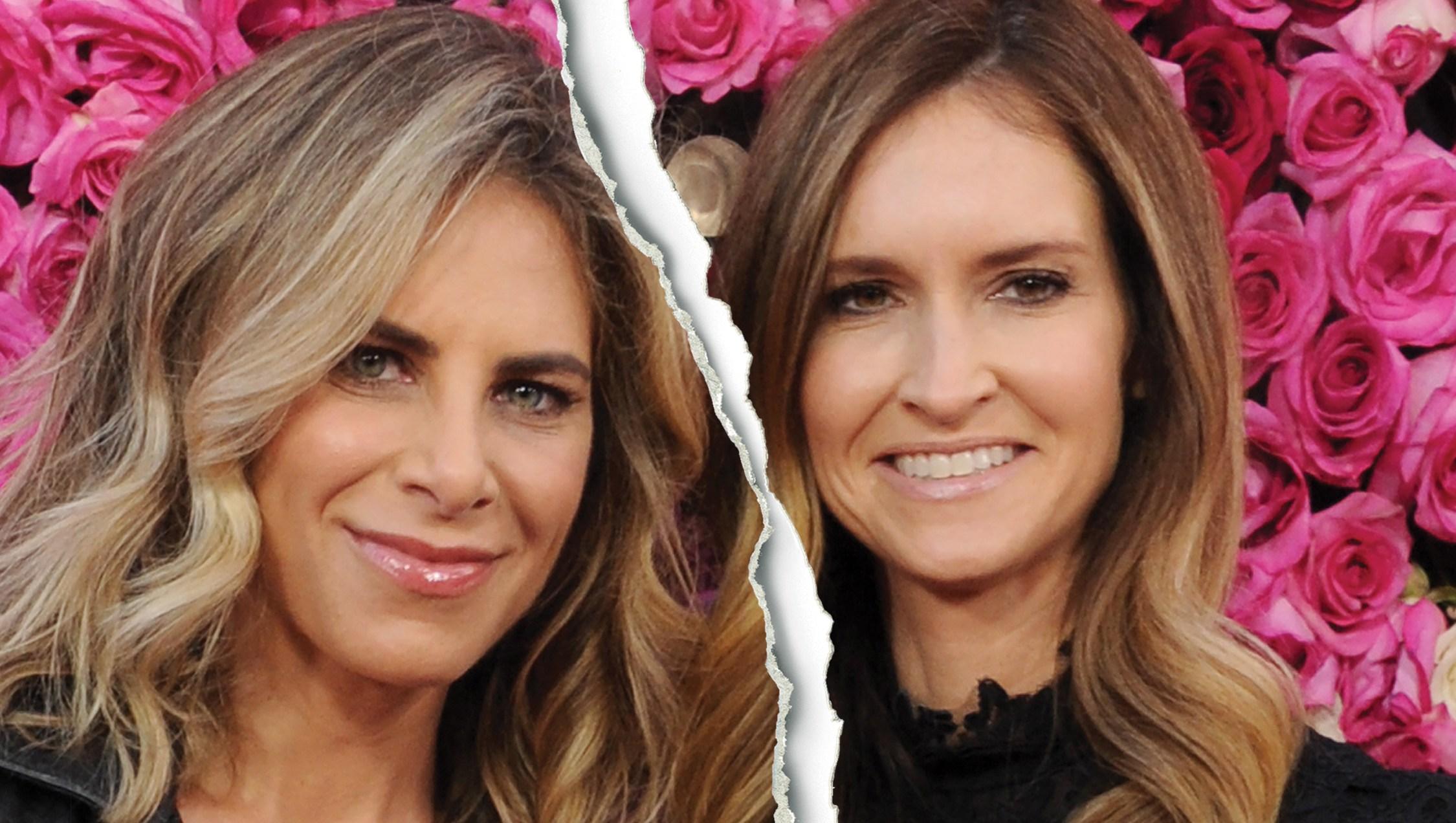 Celebrity Splits of 2018 Jillian Michaels and Heidi Rhoades split