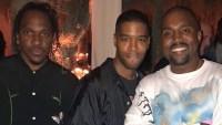 Pusha T, Kid Cudi, Kanye West, Birthday Party
