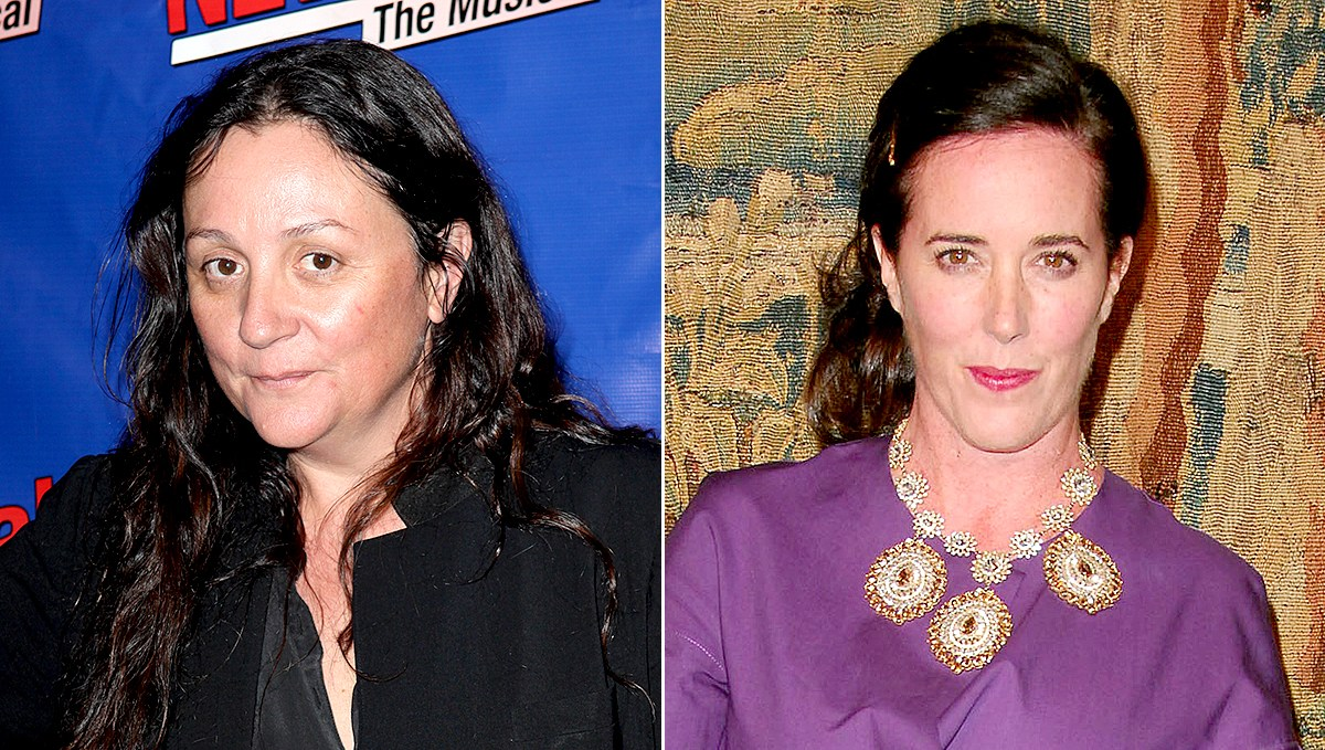 Kelly Cutrone and Kate Spade