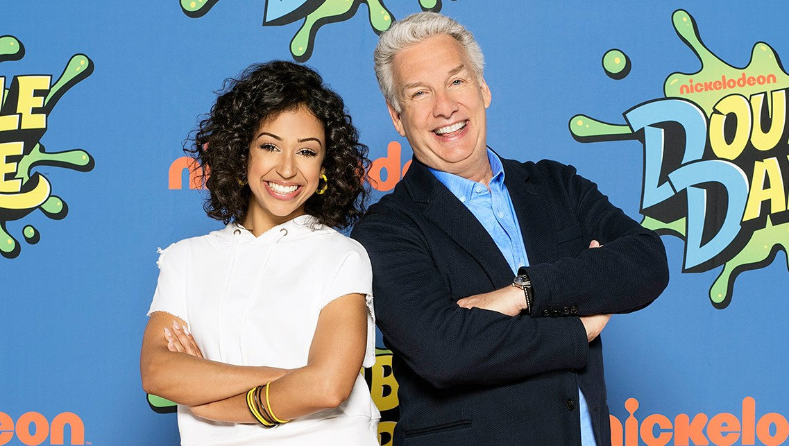 Liza Koshy Marc Summers DOUBLE DARE