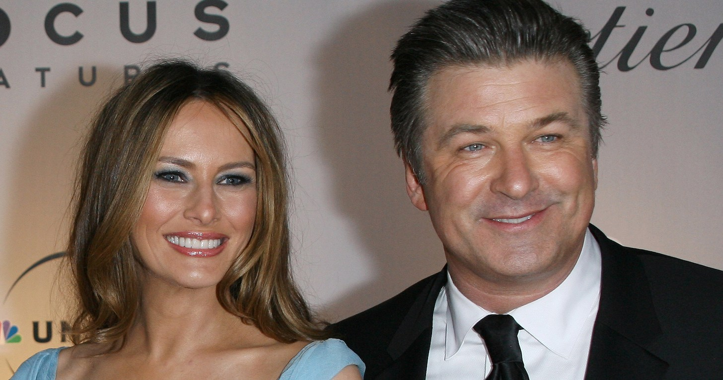 Image result for alec baldwin melania