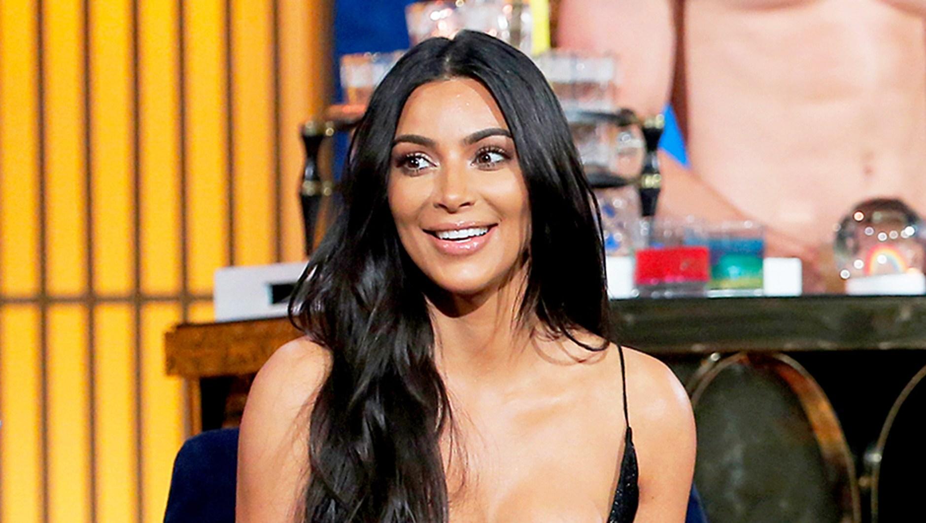 Kim Kardashian on 'Watch What Happens Live'