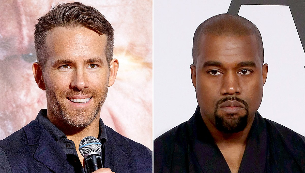 Ryan Reynolds and Kanye West