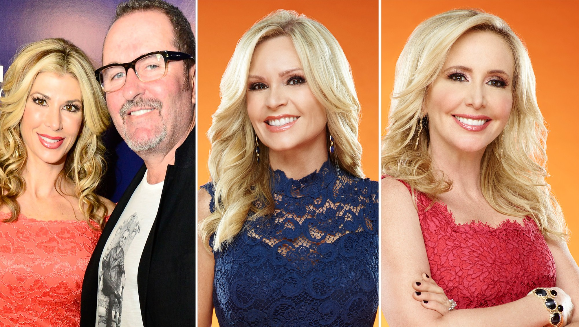 Alexis and Jim Bellino, Tamra Judge and Shannon Beador
