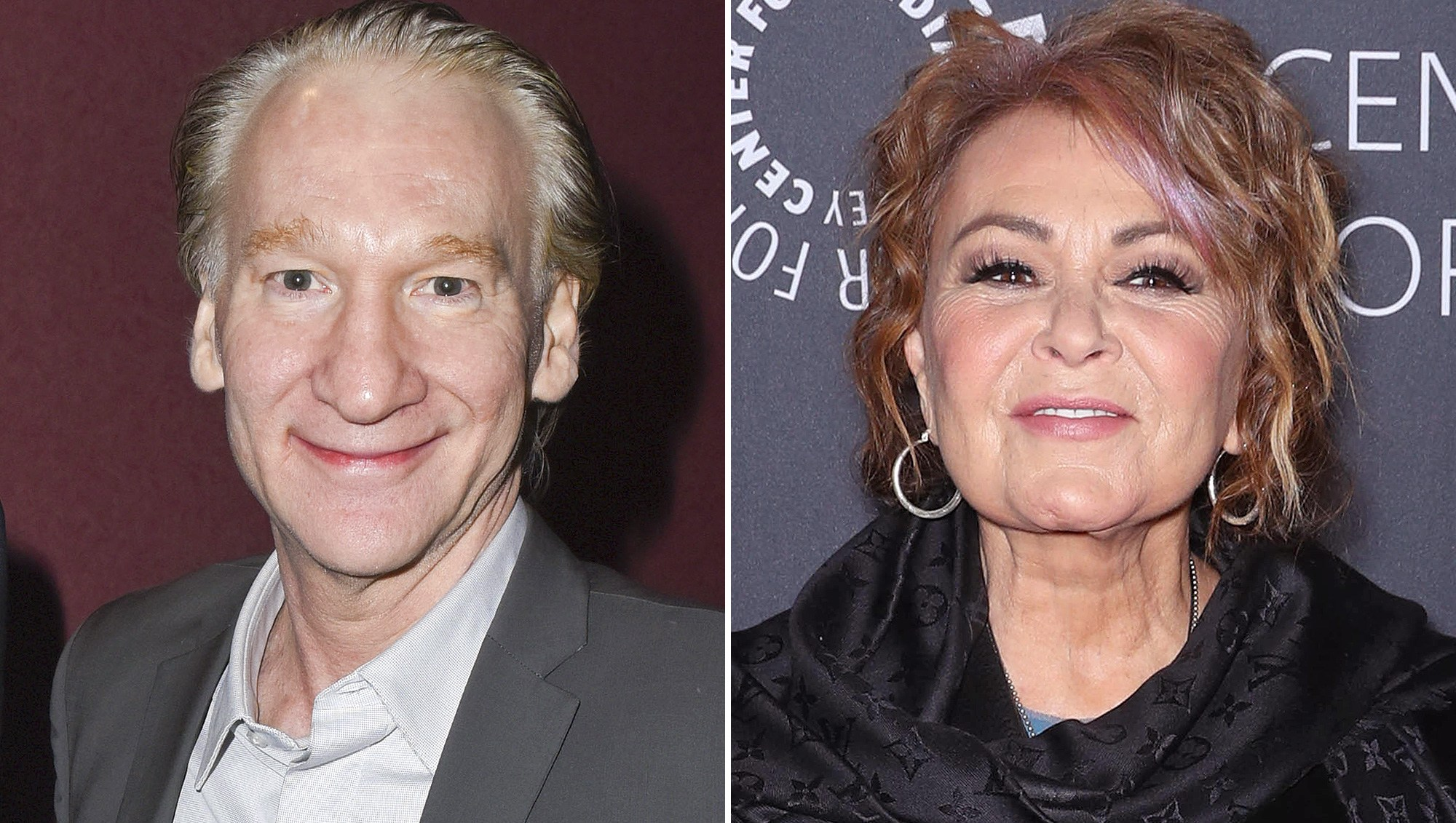 Bill Maher, Friend, Roseanne Barr, Multiple Personalities