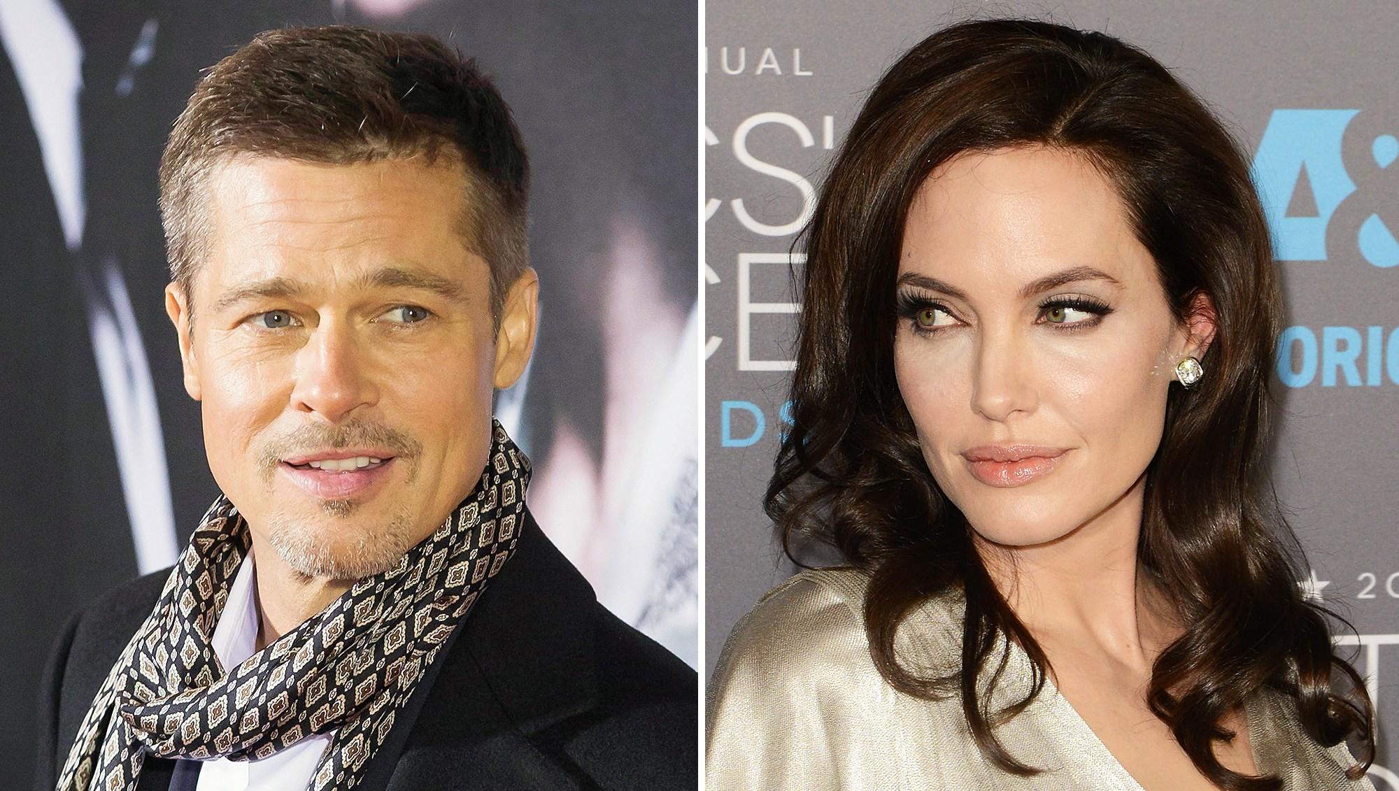 Brad Pitt Angelina Jolie Custody Battle