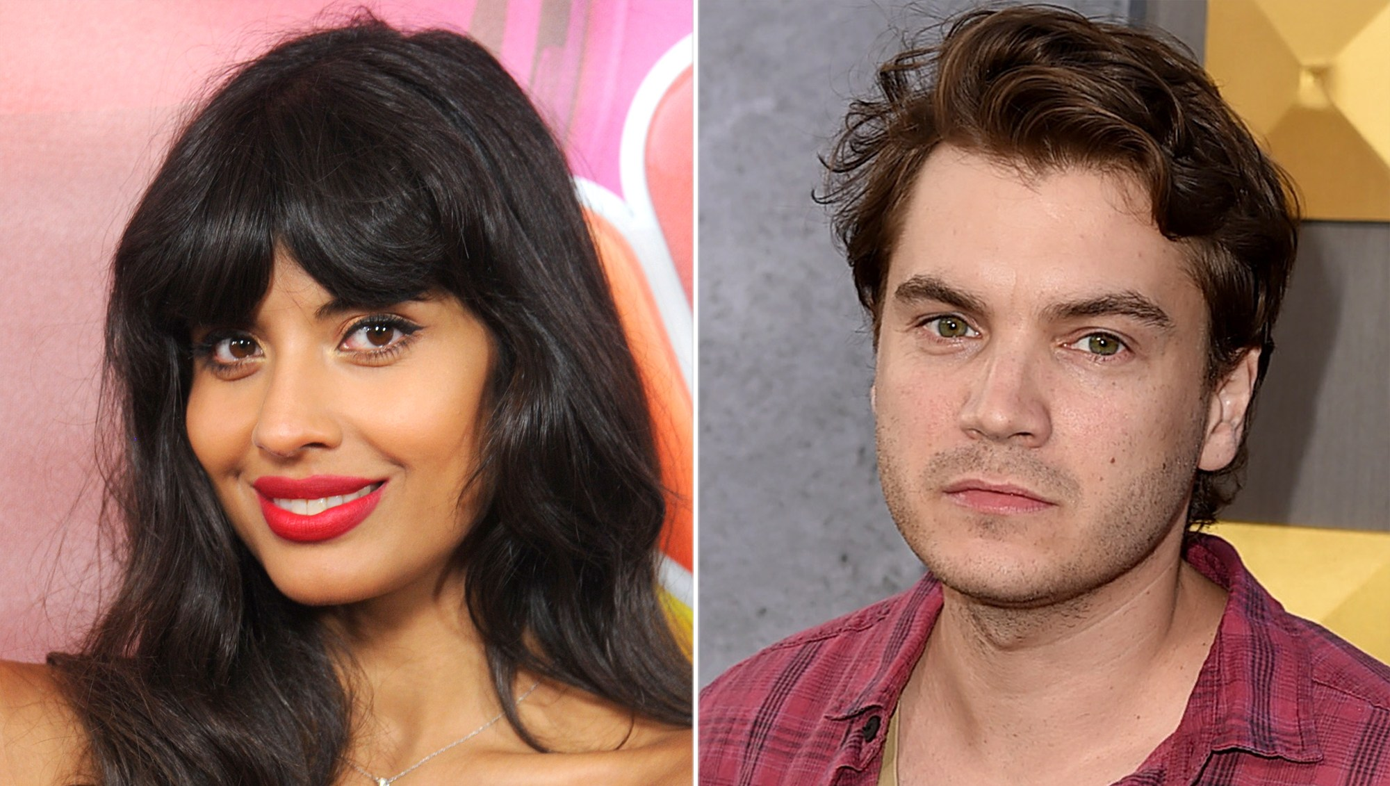 Jameela Jamil and Emile Hirsch