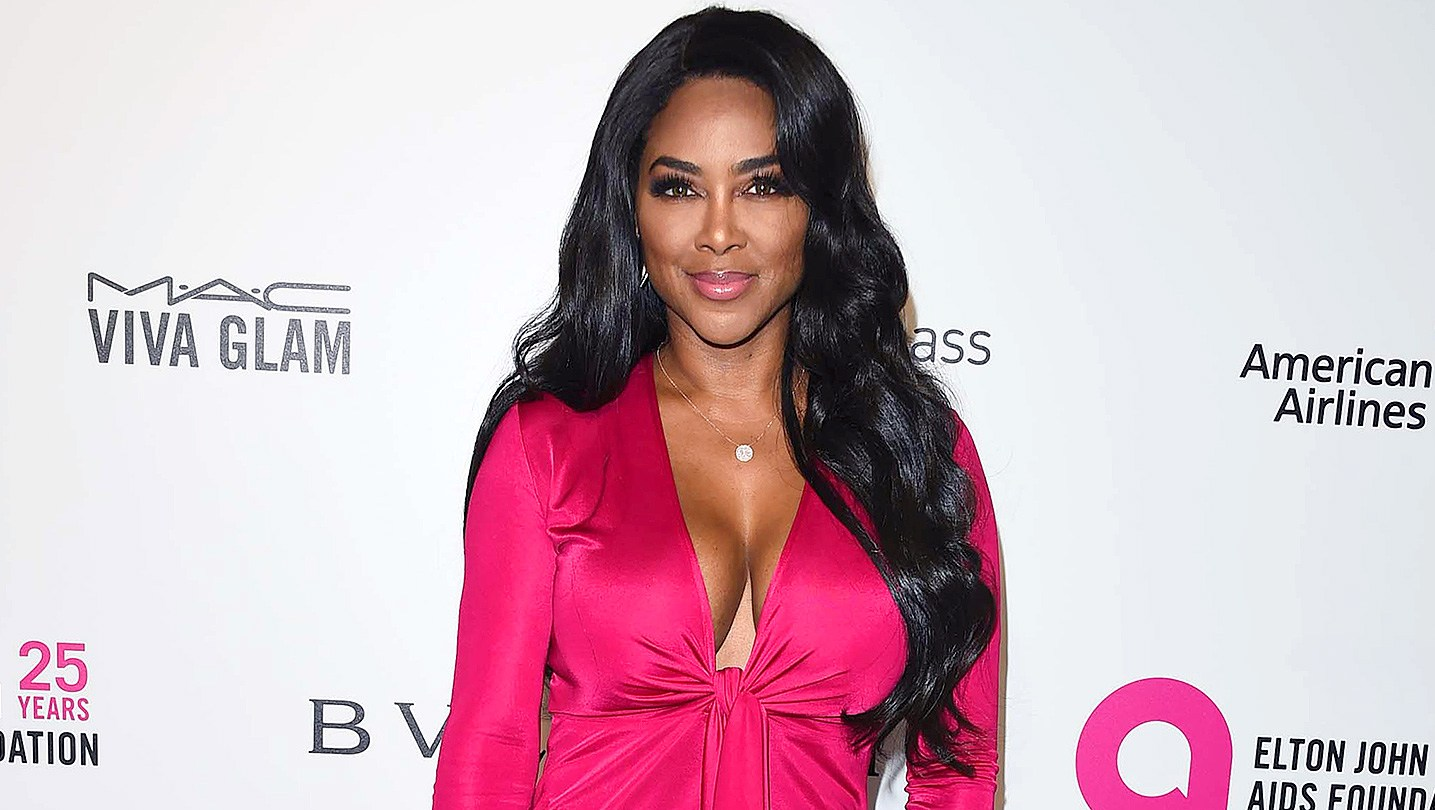 Kenya Moore, Elton John, AIDS Foundation, Academy Awards Viewing Party
