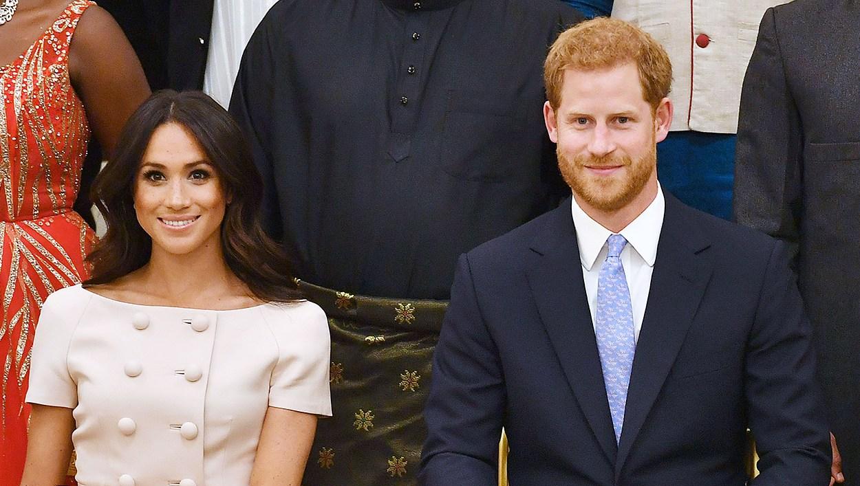 Prince Harry Duchess Meghan Queen Elizabeth Queen's Young Leaders
