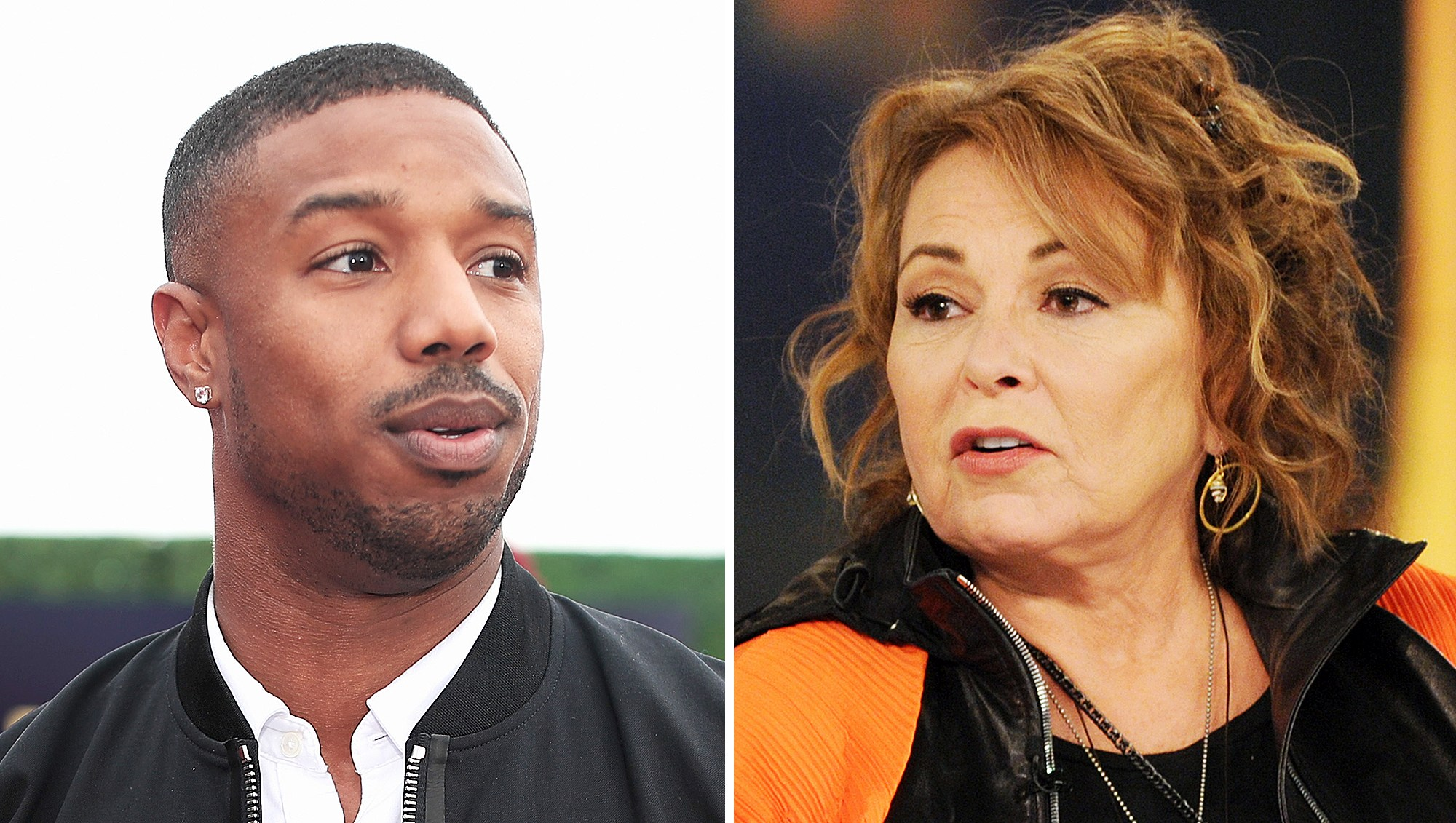 Michael B. Jordan Roseanne Barr MTV Movie Awards 2018