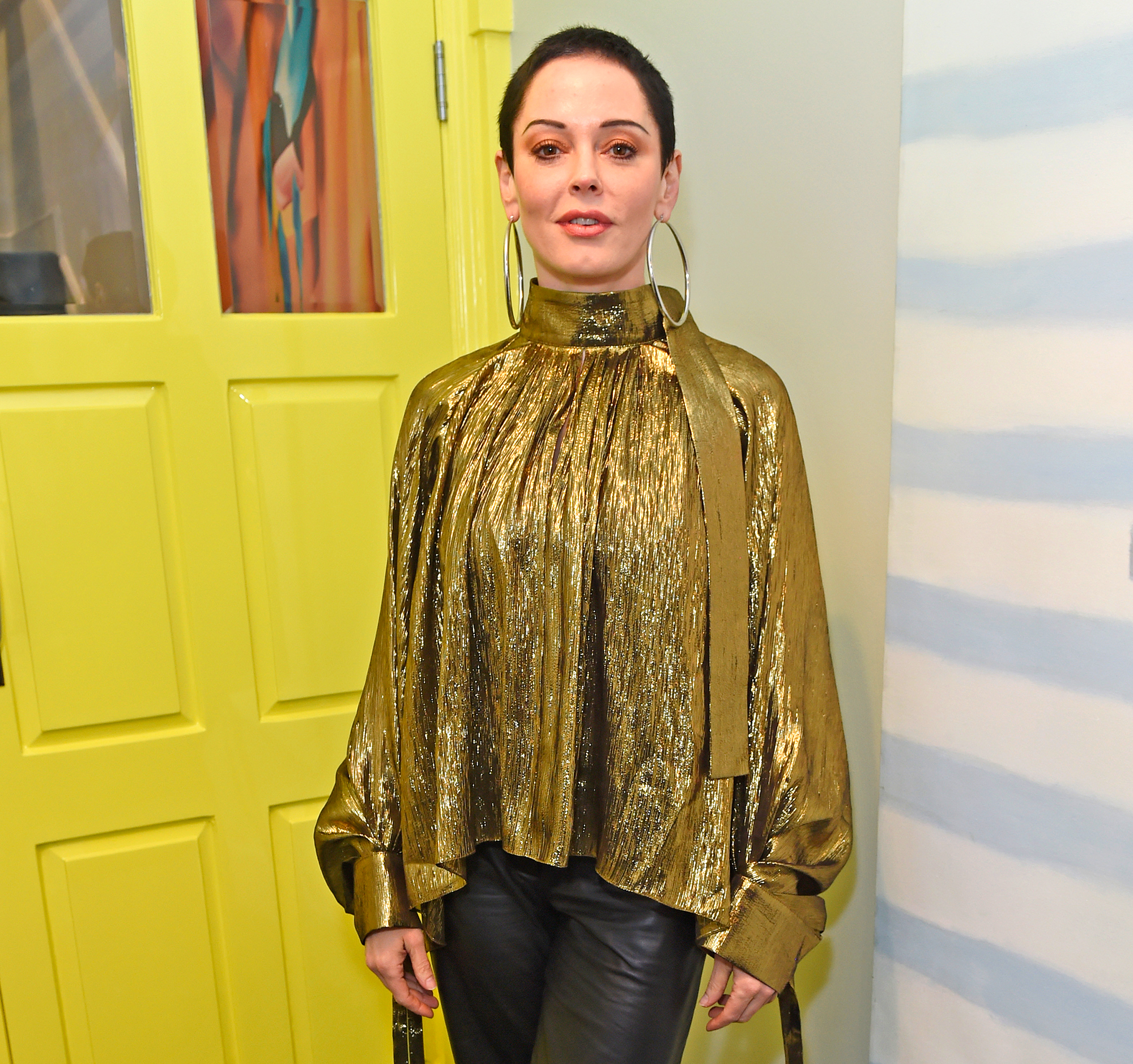 Rose McGowan's trial date set for cocaine charge