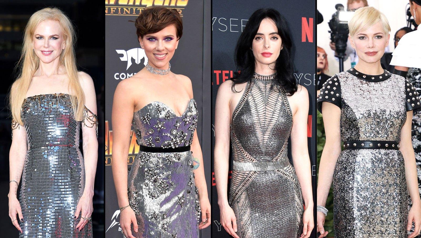 Nicole Kidman, Scarlett Johansson, Krysten Ritter, Michelle Williams