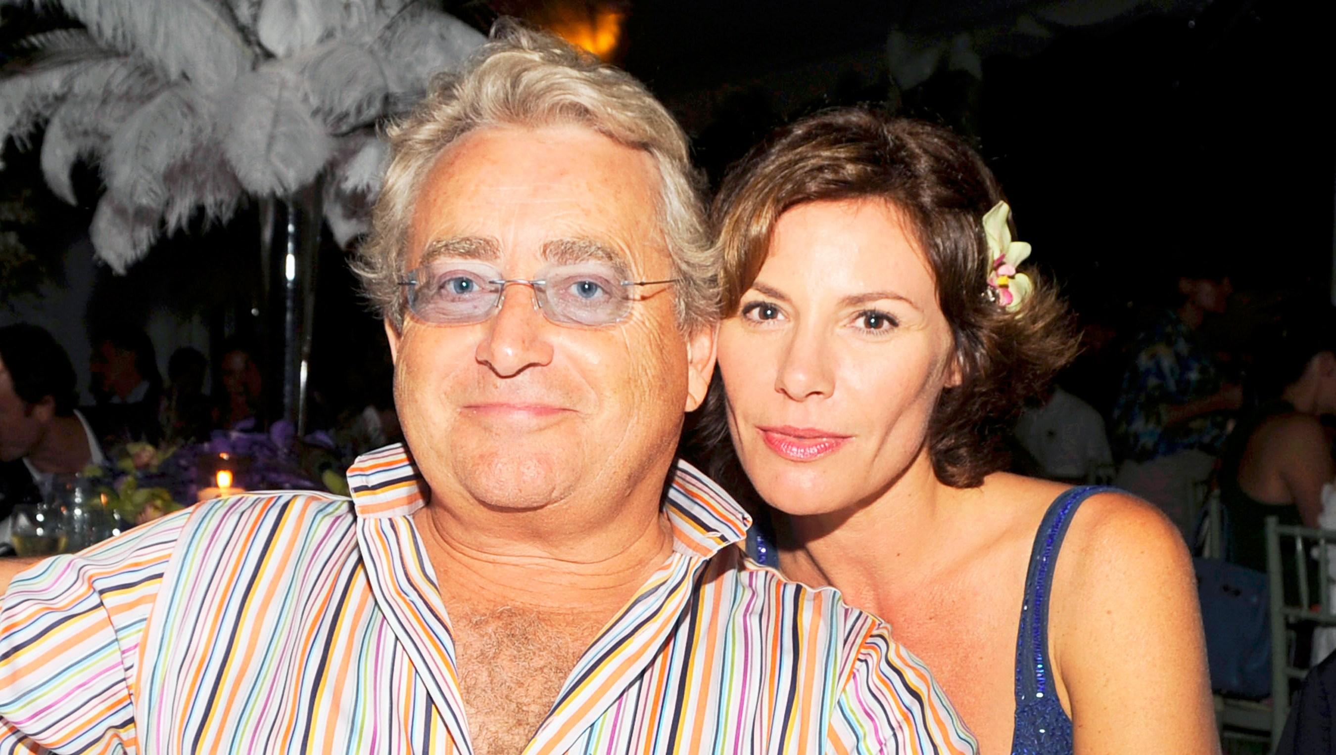 Alexandre de Lesseps and Luann de Lesseps attend 2008 Best Buddies Hamptons Bash at Watermill.
