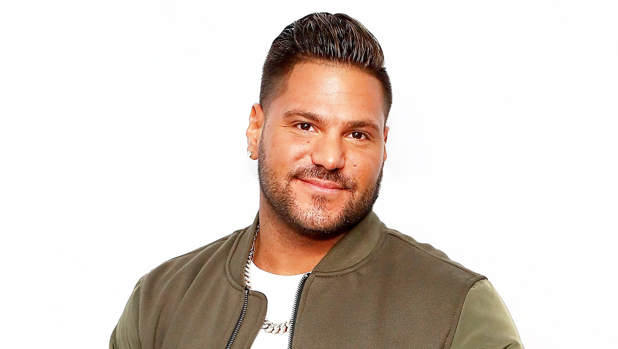 Ronnie Ortiz-Magro visits the SiriusXM Studios in New York City.