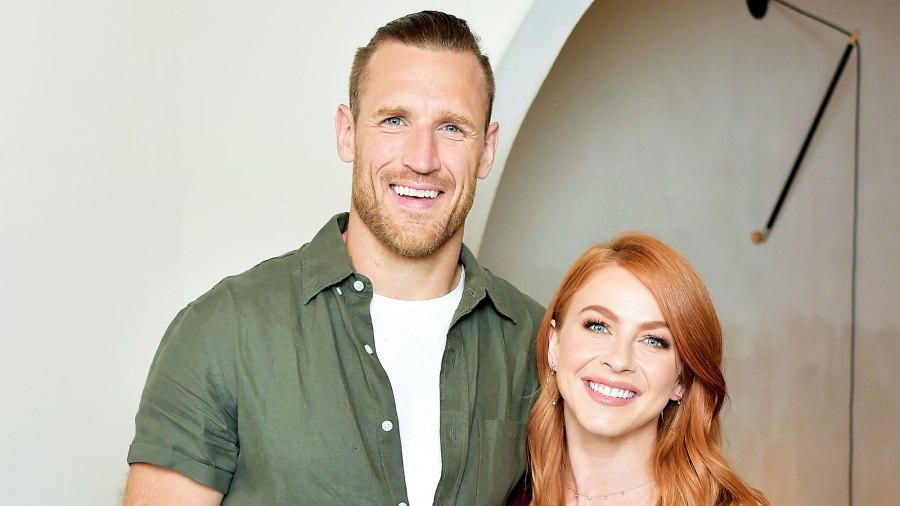 Brooks Laich and Julianne Hough attend 2018 Julianne Hough and Anita Patrickson Host an evening at AMANU to benefit LOVE UNITED at Amanu in West Hollywood, California.