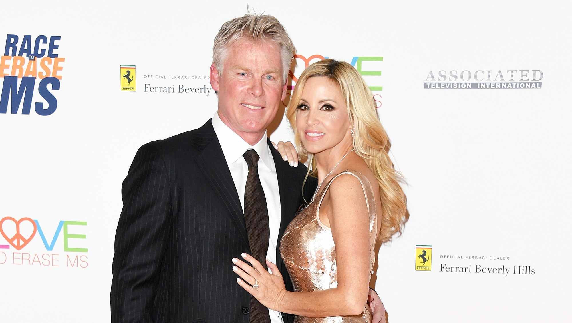 David C. Meyer Camille Grammer Set Wedding Date