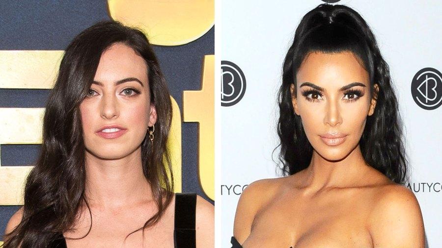 Cazzie David Kim Kardashian plastic surgery shade