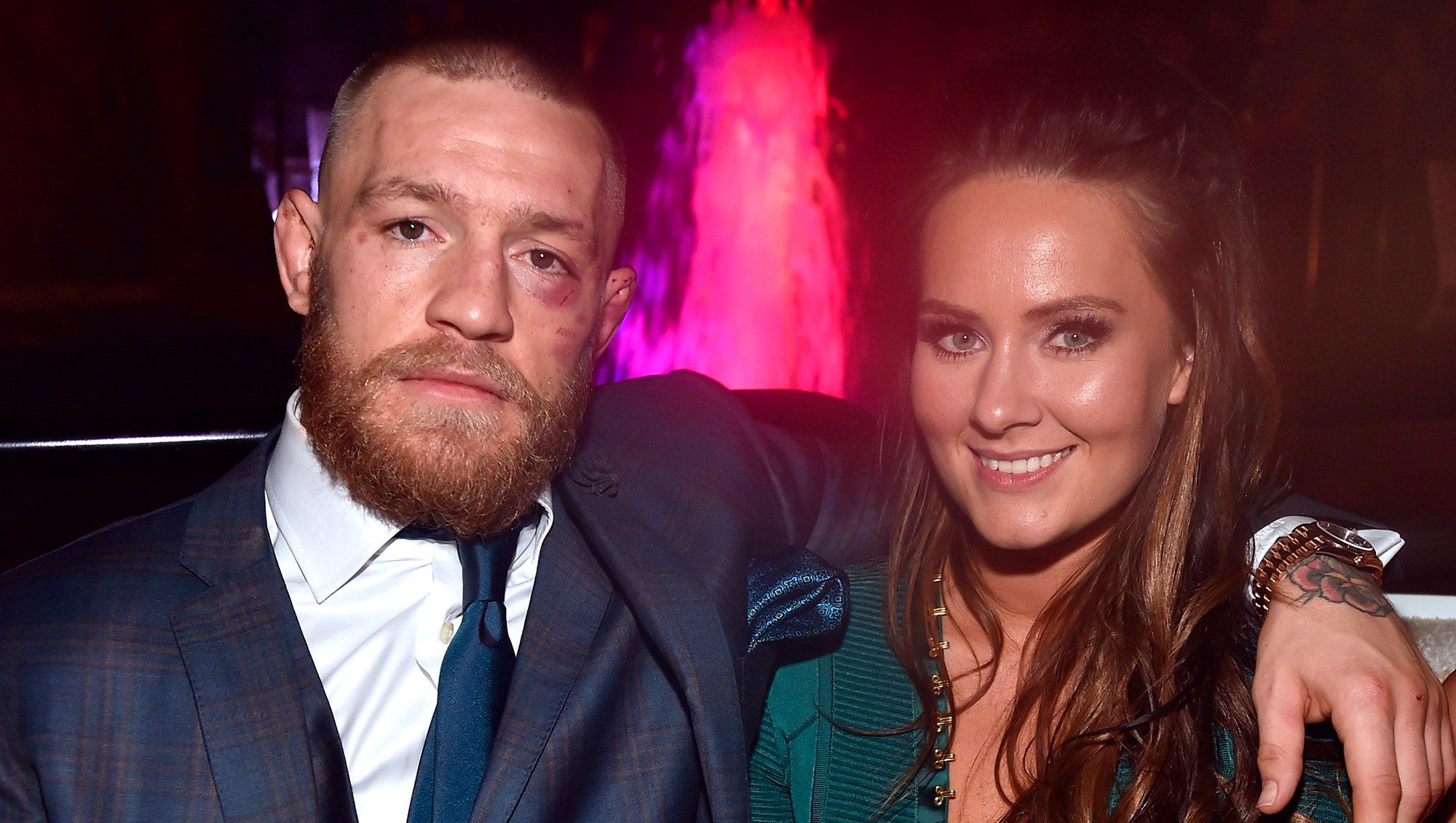 Conor McGregor and Dee Devlin