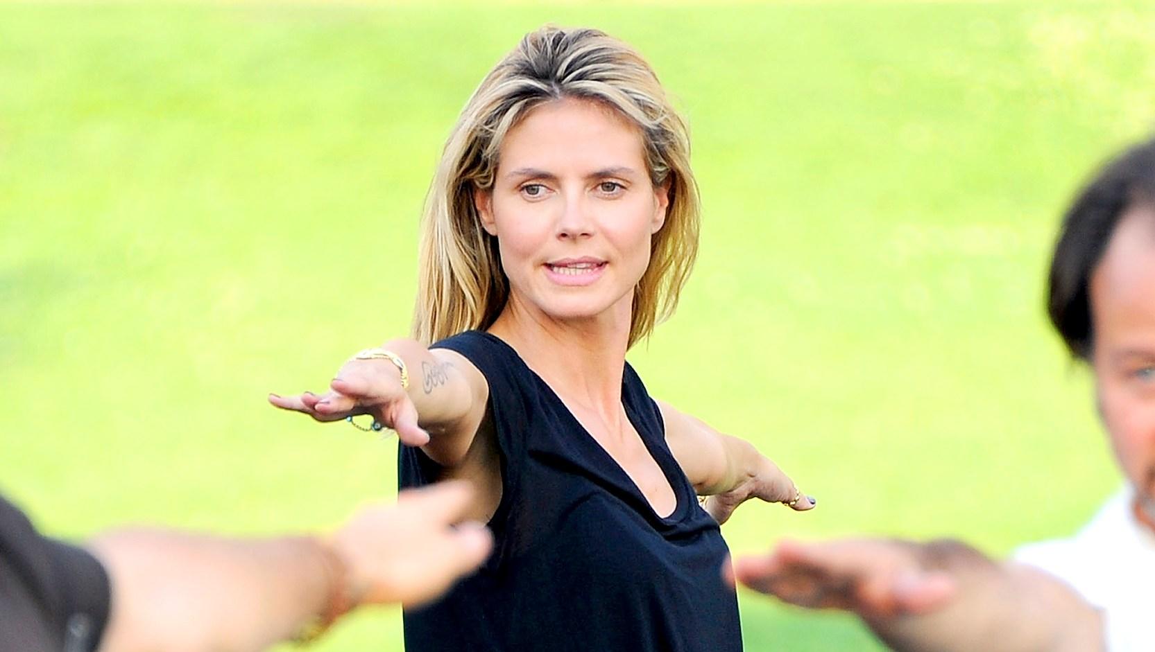 Heidi-Klum-pilates