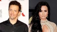 Jason Mraz and Demi Lovato