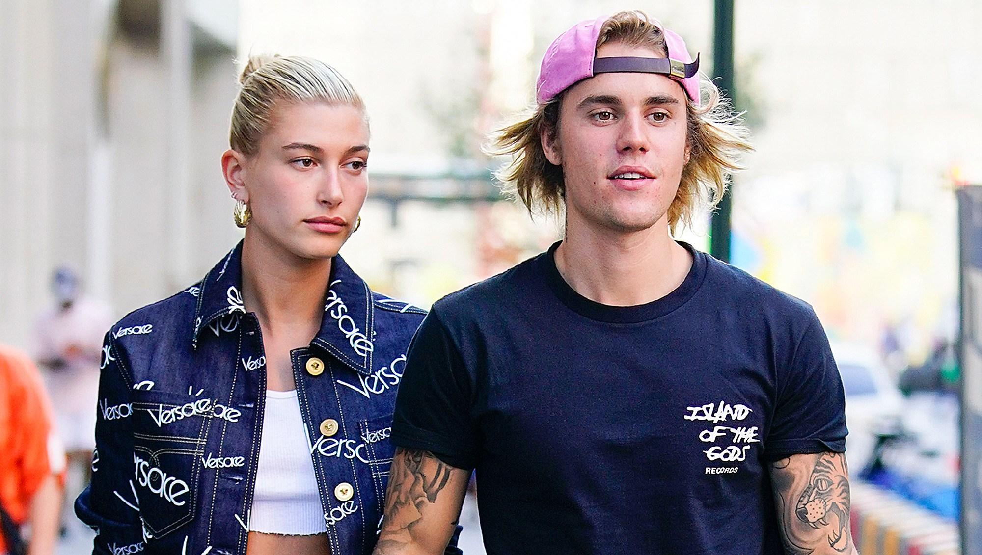 Justin Bieber, Hailey Baldwin, Dating