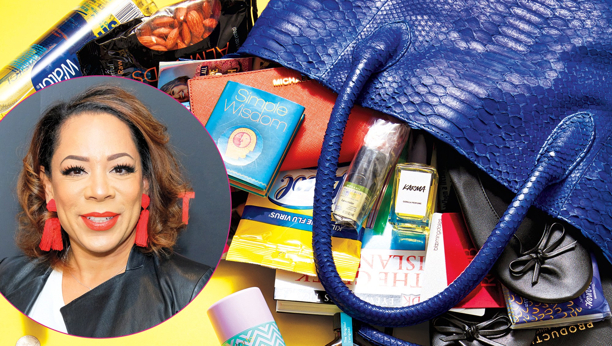 Selenis Leyva: What's In My Bag?