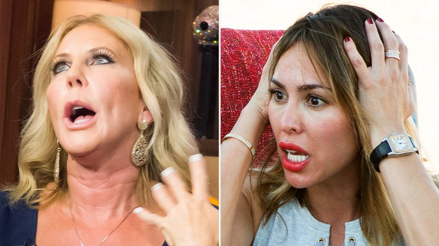 Vicki Gunvalson and Kelly Dodd Get Into Explosive Fight