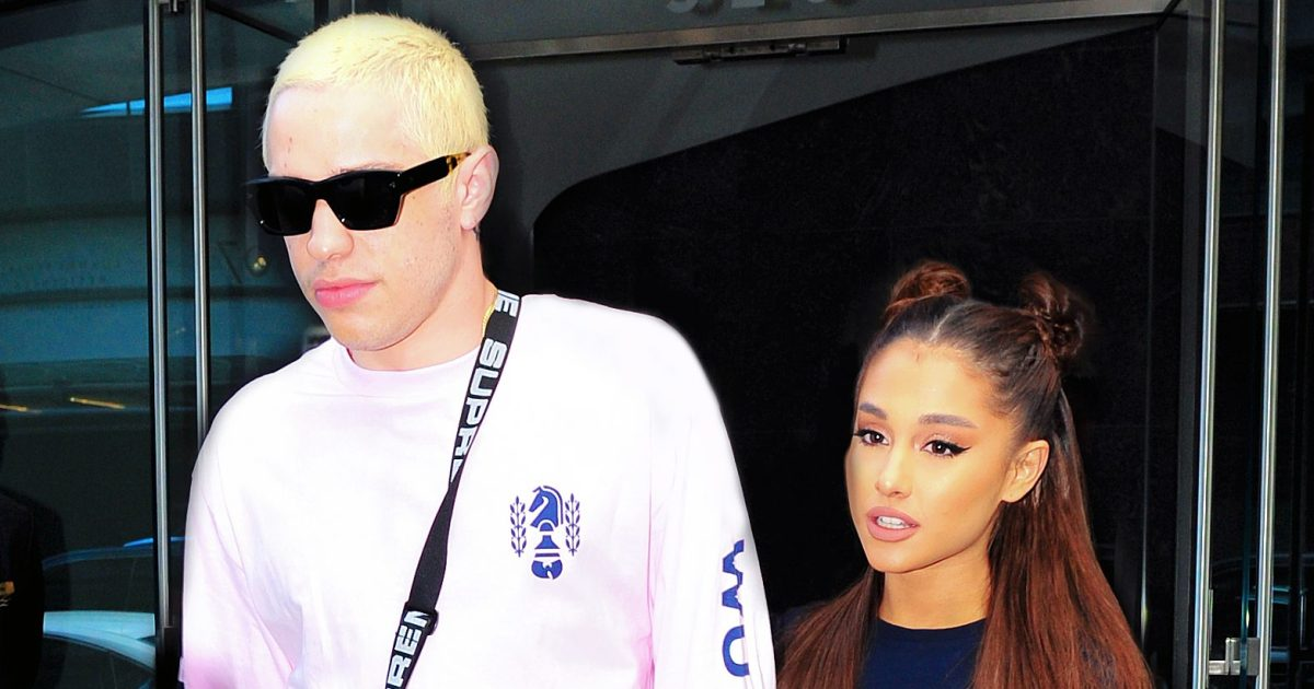 Pete Davidson I Proposed To Ariana Grande While Smoking