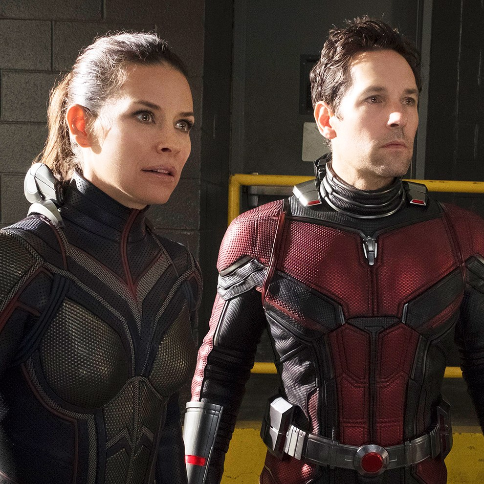 Evangeline Lily Paul Rudd Ant-Man and the Wasp