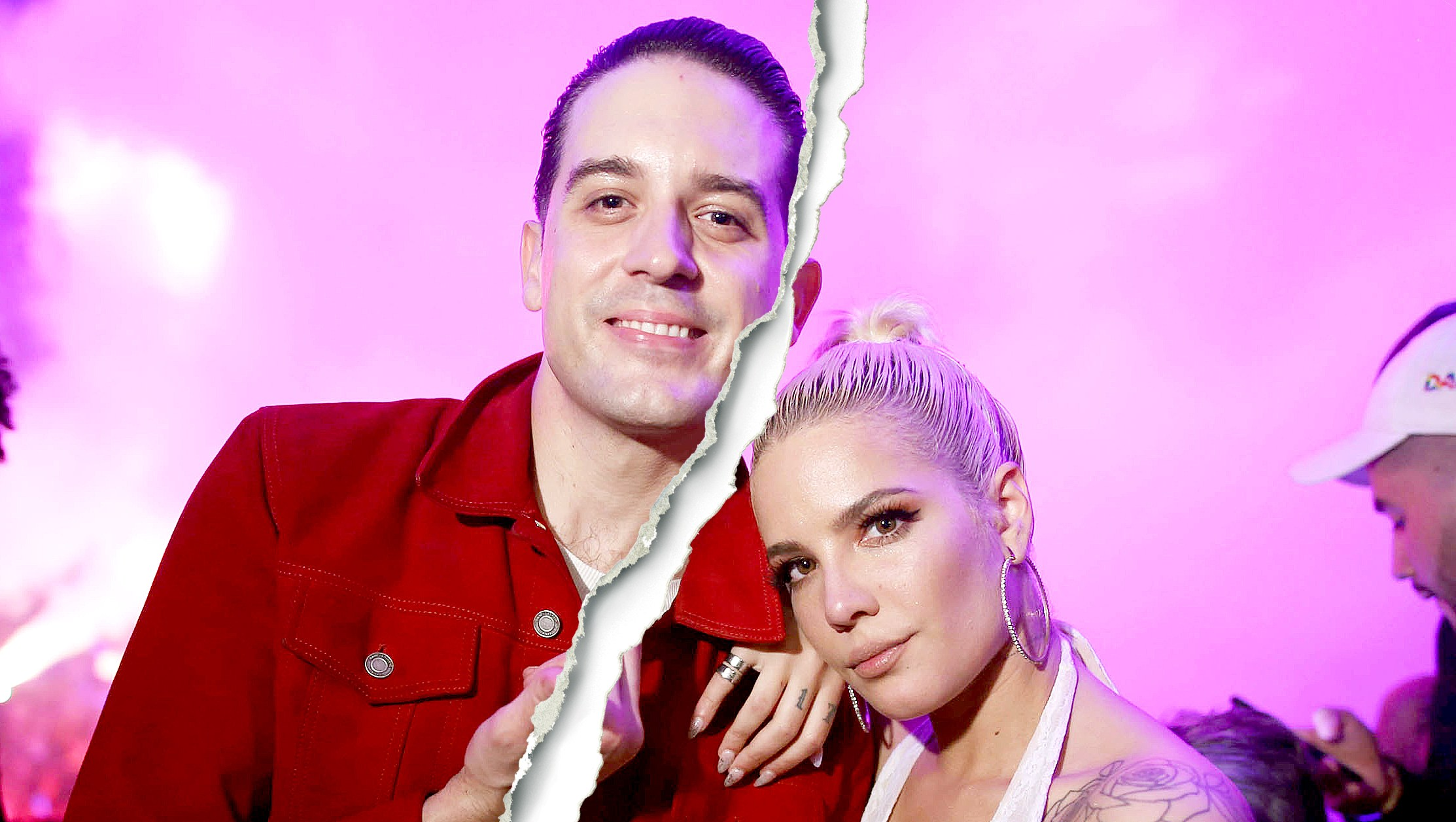 Celebrity Splits of 2018 halsey g eazy split1