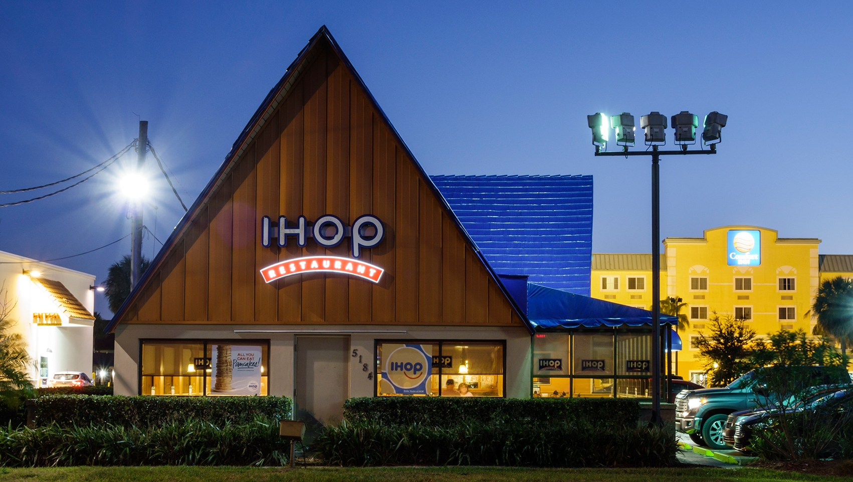The exterior of IHOP
