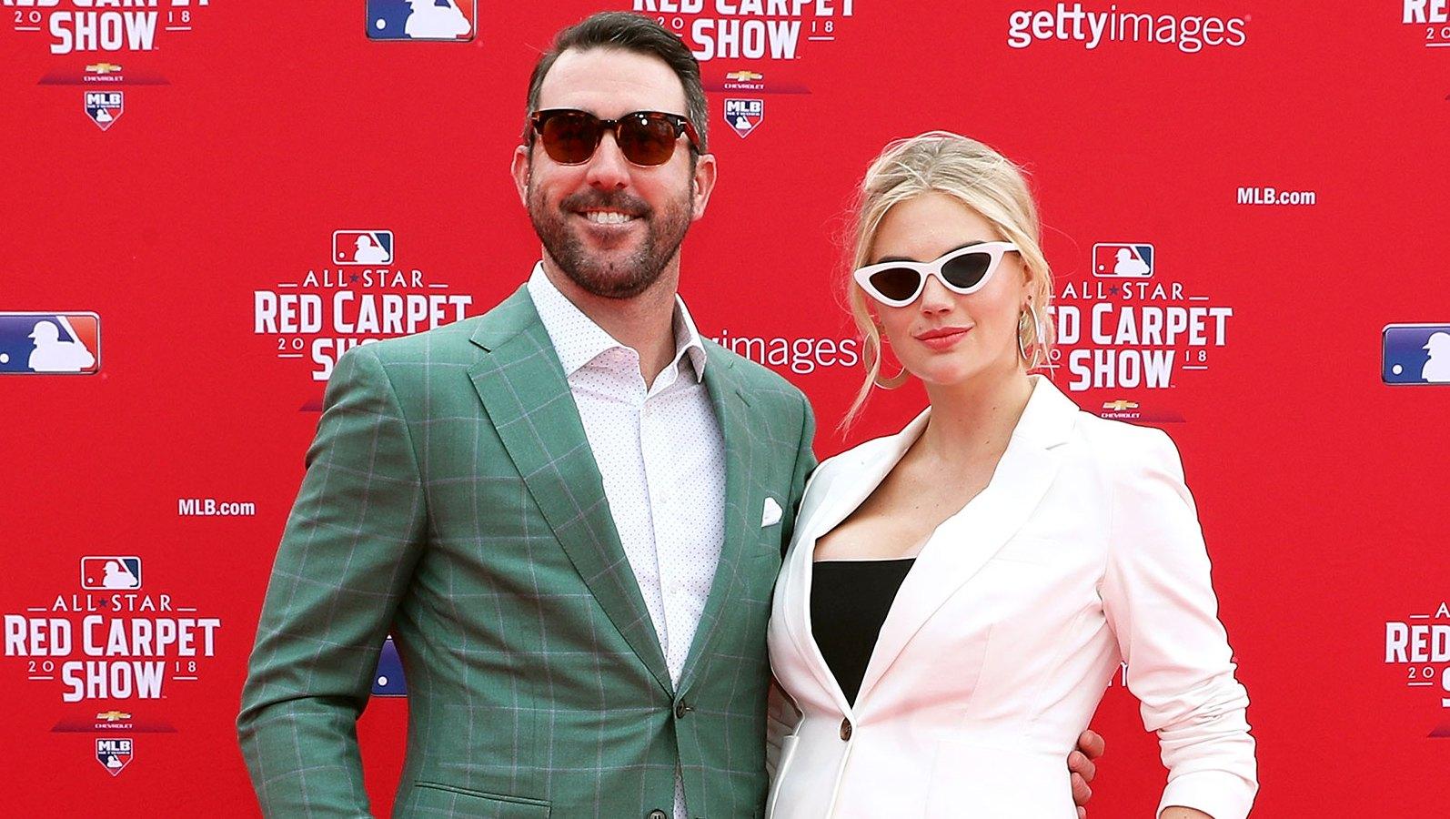 Kate Upton Justin Verlander MLB All-Star game