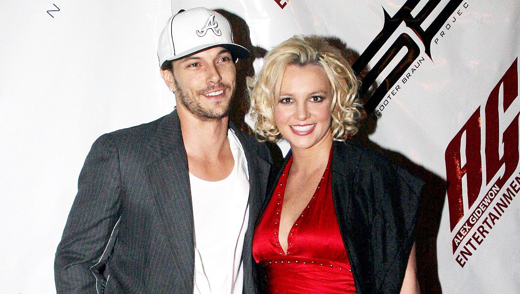 Kevin Federline Britney Spears Sons On Tour